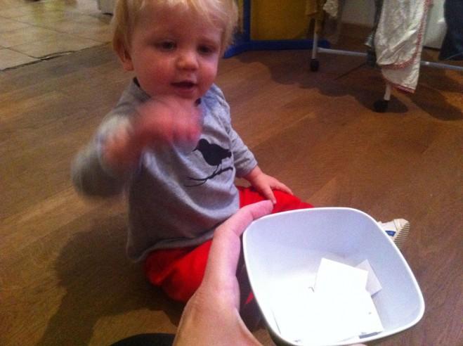 onschuldige kinderhand