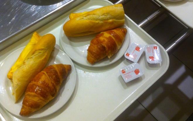 ontbijten in de hema