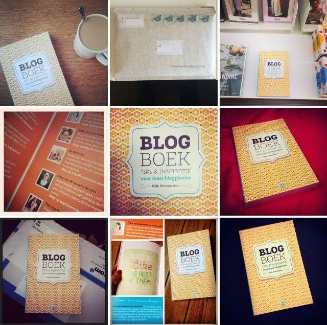 Het blogboek op Instagram.